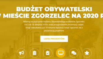 Budżet Obywatelski Zgorzelec 2020: Sprawdź, które projekty zostały pozytywnie zweryfikowane!