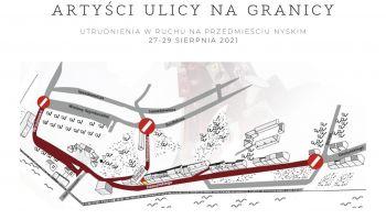27 – 29 sierpnia utrudnienia w ruchu na Przedmieściu Nyskim