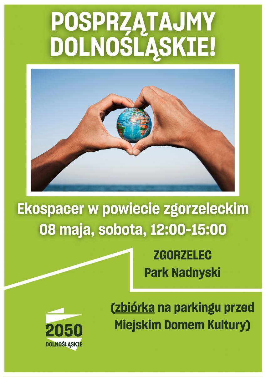 Zgorzelecki Ekospacer. Przyłączysz się do sprzątania Parku Nadnyskiego?