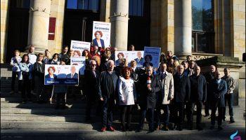 Konferencja prasowa Koalicji Obywatelskiej w Zgorzelcu