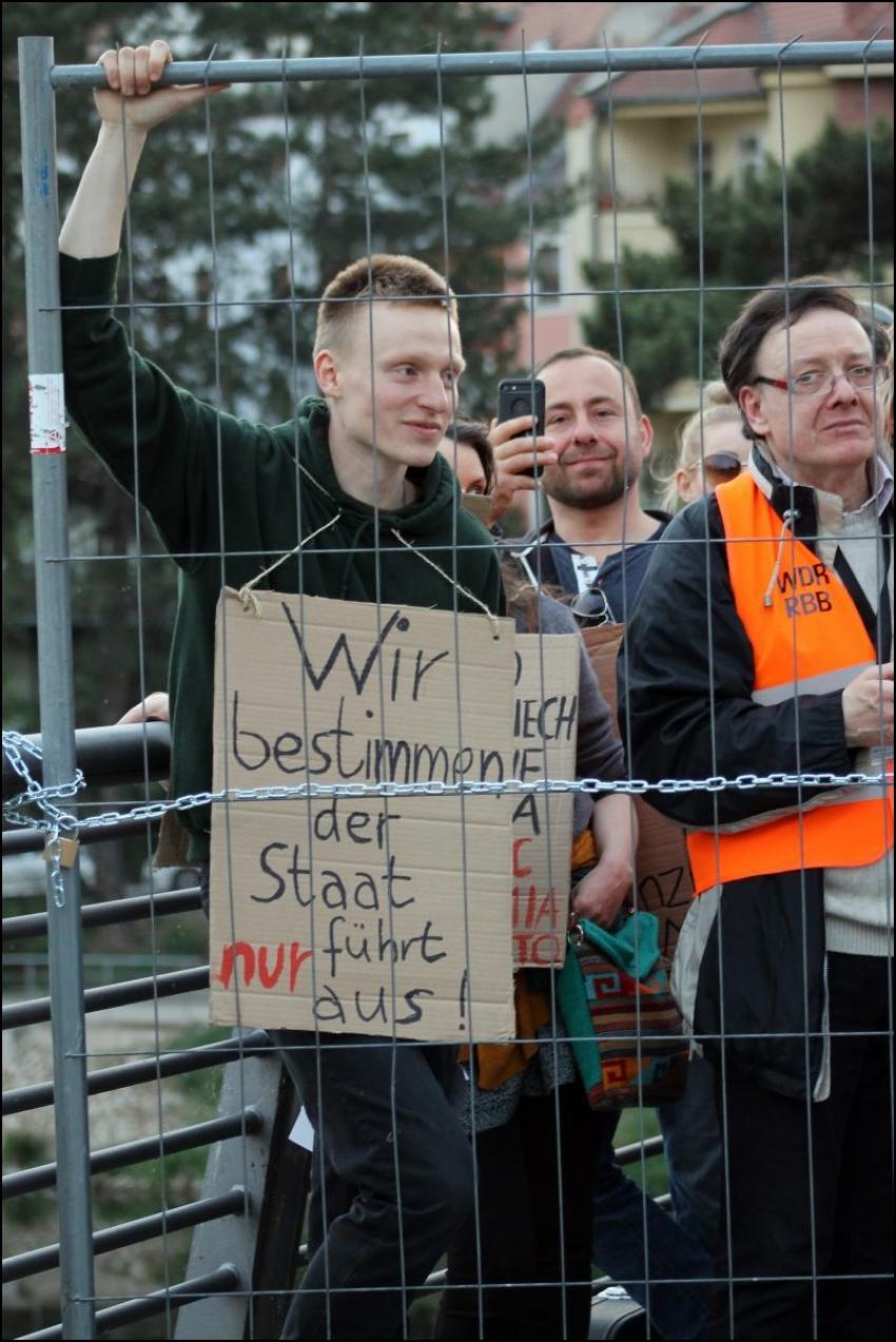 Protesty na polsko-niemieckiej granicy. Pracownicy transgraniczni domagają się otwarcia granic - zdjęcie nr 45