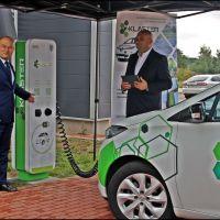 Nowa ładowarka dla samochodów elektrycznych w Zgorzelcu