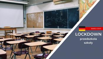 Lockdown w Niemczech: przedszkola i szkoły