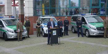 Nowe samochody w polsko-niemieckich placówkach straży granicznej - zdjęcie nr 4