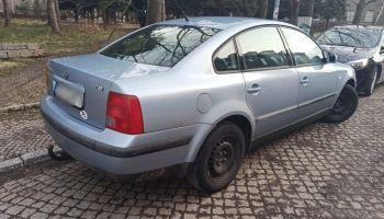 Skradziony na terenie Zgorzelca Volkswagen Passat / fot. KPP Zgorzelec