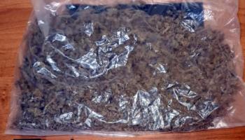 Zabezpieczona przez policjantów marihuana / fot. KPP Zgorzelec