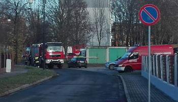 Przy ul. Karłowicza w Zgorzelcu uszkodzono gazociąg.
