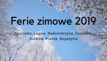 Ferie zimowe 2019 w powiecie zgorzeleckim