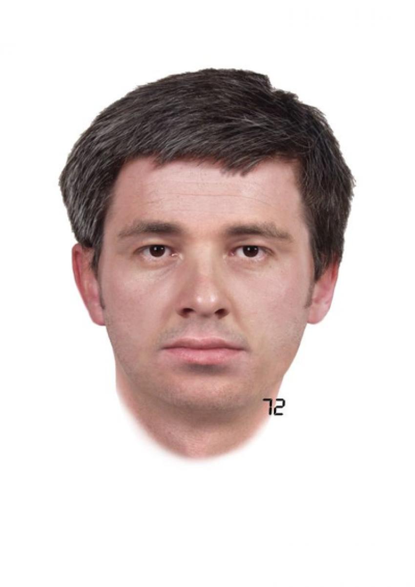 Jeśli ktoś z rozpoznaje mężczyznę ze zdjęcia, proszony jest o pilny kontakt z policjantami z Bogatyni (fot.: KPP Zgorzelec)