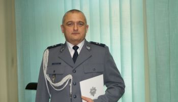 Nowy komendant Komisariatu Policji w Bogatyni podkom. Piotr Grześków
