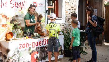 Interesujące fakty z życia opiekuna zwierząt w ramach festynu w zoo / fot. www.zoo-goerlitz.de, I. Plath