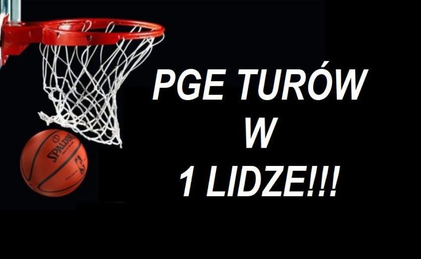 PGE Turów Zgorzelec zagra w nowym sezonie na zapleczu ekstraklasy!