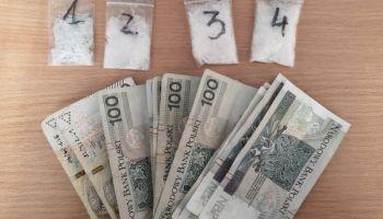 Zabezpieczone narkotyki i pieniądze / fot. KPP Zgorzelec