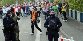 Protesty na polsko-niemieckiej granicy. Pracownicy transgraniczni domagają się otwarcia granic - zdjęcie nr 26
