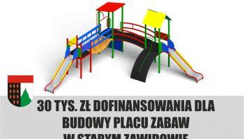 Plac zabaw w Starym Zawidowie / materiały promocyjne Gminy Sulików