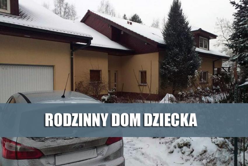 Rodzinny Dom Dziecka w Jarach / fot. Starostwo Powiatowe w Zgorzelcu
