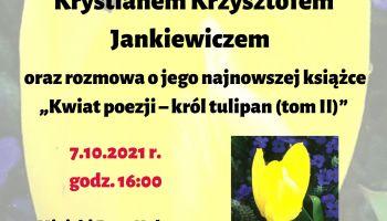 Spotkanie z poetą Krystianem Krzysztofem Jankiewiczem