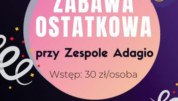 Ostatki 2020 w Zawidowie