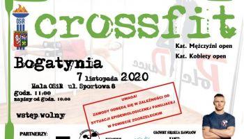 Zawody Crossfit'owe 2020 – zaproszenie