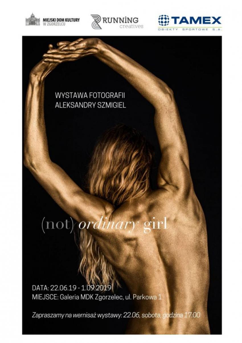 Zaproszenie na wystawę fotografii Aleksandry Szmigiel