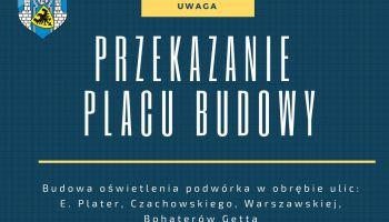 W maju zakończą się prace związane z oświetleniem podwórka w obrębie ul. Plater, Czachowskiego, Warszawskiej. fot.: UM Zgorzelec