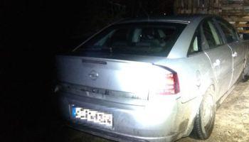 Skradziony Opel Vectra / fot. KPP Zgorzelec