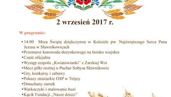 Dożynki Parafialne w Sławnikowicach