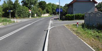 Zakończyła się budowa chodnika w Jędrzychowicach - zdjęcie nr 1