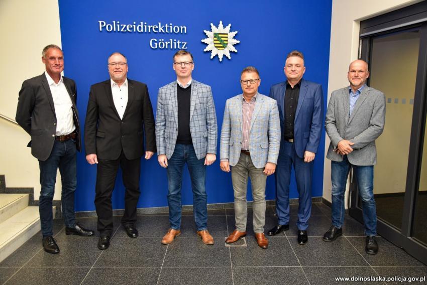 W Dyrekcji Policji w Görlitz odbyło się spotkanie poświęcone współpracy międzynarodowej służb odpowiedzialnych za bezpieczeństwo