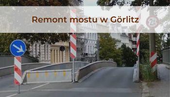 Objazd w Görlitz w kierunku jeziora Berzdorf