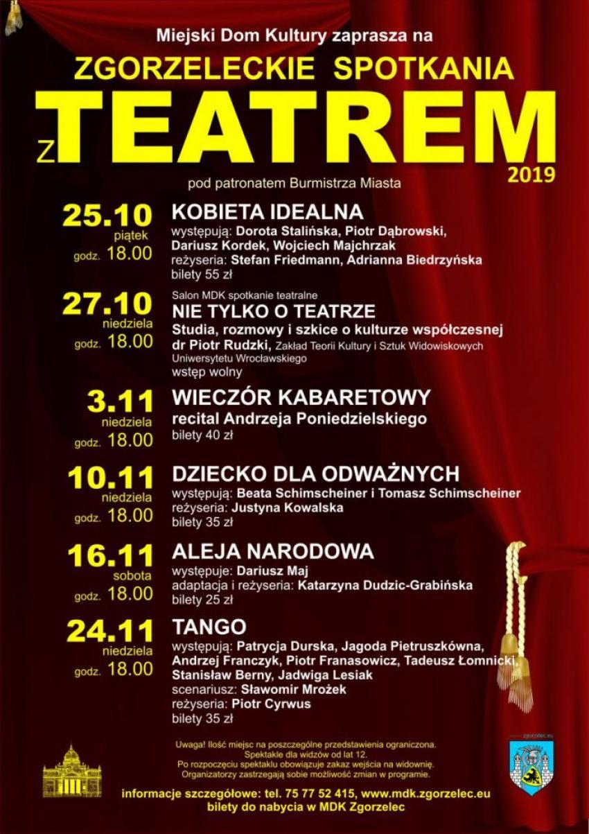 Zgorzeleckie Spotkania z Teatrem 2019