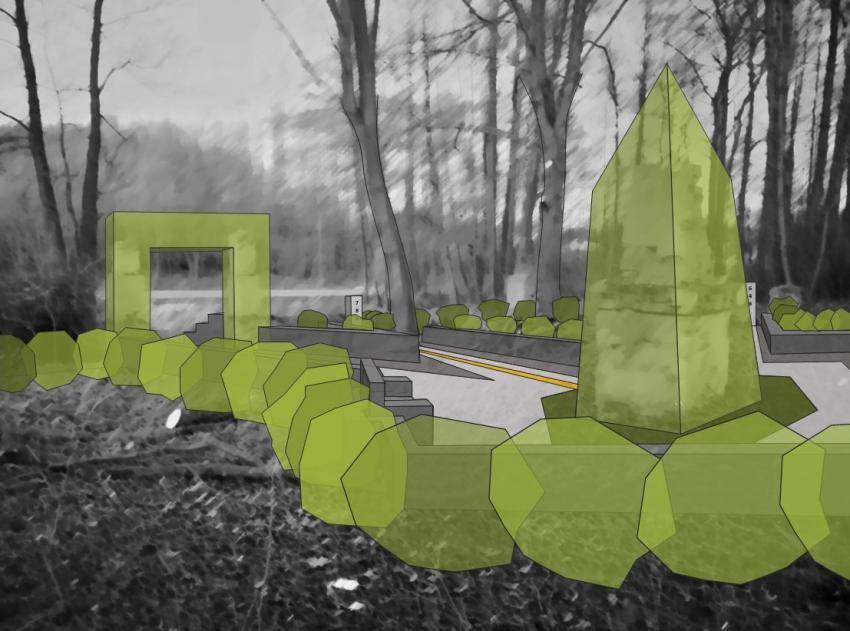 Budowa infrastruktury turystycznej i rekreacyjnej na bazie zapomnianego epizodu w historii wsi Gozdanin