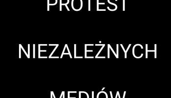 Protest mediów 2021
