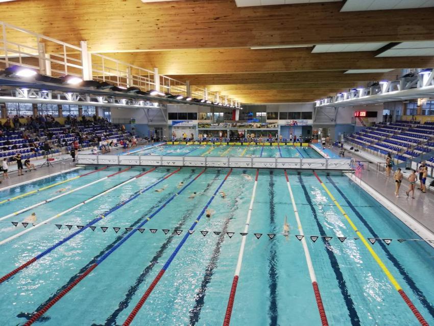 Zawodnicy UKS ENERGETYK Zgorzelec na rocznikowych Mistrzostwach Polski Juniorów