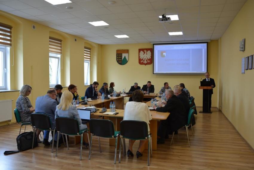 Sesja absolutoryjna Rady Gminy Sulików / materiały prasowe Gminy Sulików