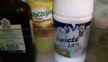 Wszystko przez to... mleko.