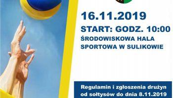 VI Halowy Turniej Piłki Siatkowej Drużyn Sołeckich o Puchar Wójta Gminy Sulików