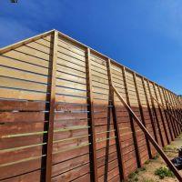 Nowe ogrodzenie wokół boisk wielofunkcyjnych na zgorzeleckim stadionie
