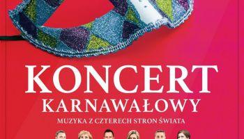 Koncert karnawałowy. Grupa Operowa Sonori Enseble w Zgorzelcu