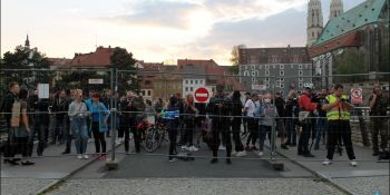 Protesty na polsko-niemieckiej granicy. Pracownicy transgraniczni domagają się otwarcia granic - zdjęcie nr 37