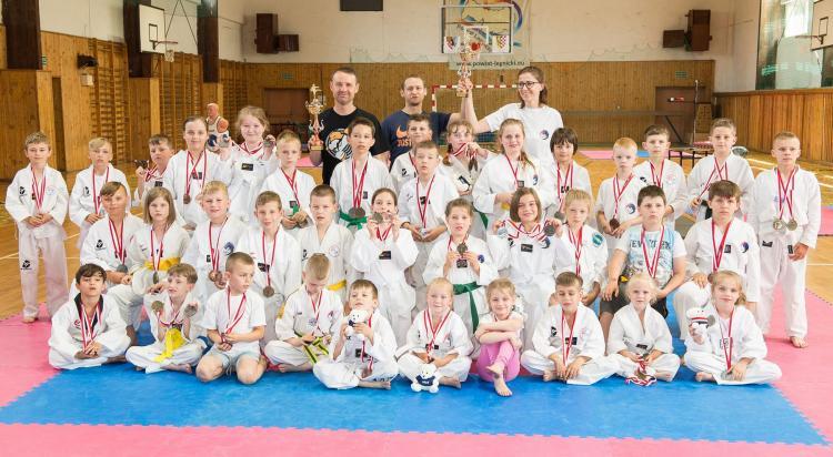Młodzi sportowcy spisali się na medal