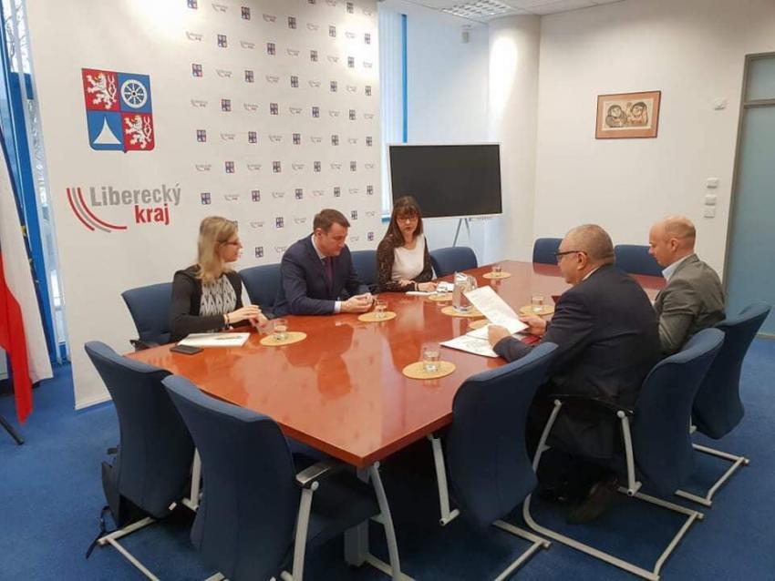 Spotkanie z hetmanem Kraju Libereckiego / fot. UMWD