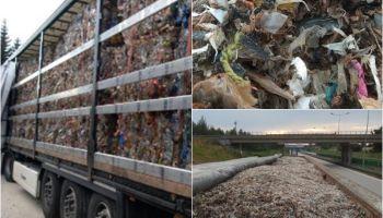Śmieci komunalne z Niemiec i Czech miały trafić na polskie składowiska / fot. KAS