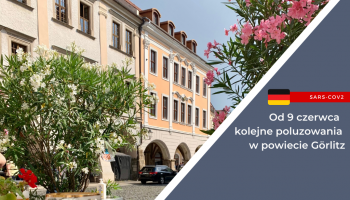 Od 9 czerwca kolejne poluzowania w powiecie Görlitz