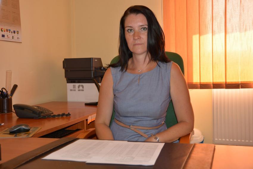 Skarbnik Gminy Sulików Agnieszka Żukowska / fot. Urząd Gminy Sulików