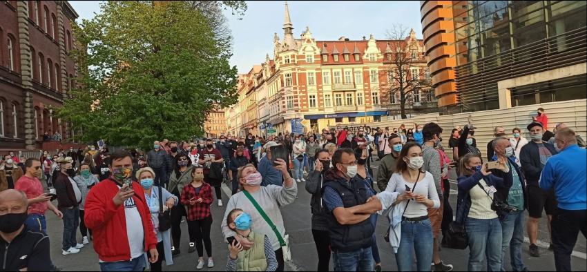 Protesty na polsko-niemieckiej granicy. Pracownicy transgraniczni domagają się otwarcia granic - zdjęcie nr 5