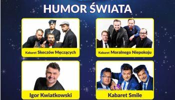 Polska Noc Kabaretowa 2019: PGE Turów Arena, 17 lutego, godz. 17.00