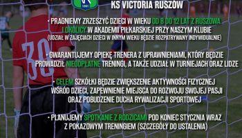 Akademia Piłkarska przy KS Victoria Ruszów