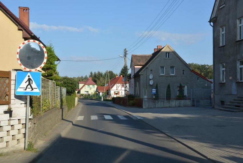 Droga przy Szkole Podstawowej w Sulikowie (materiały prasowe UG Sulików)