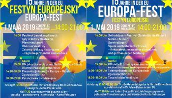Festyn Europejski – Na Styku Kultur - 15 lat w europejskiej rodzinie